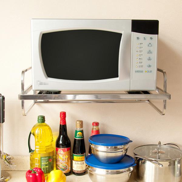 13 mẫu giá kệ để lò vi sóng tiện dụng cho nhà bếp nhỏ - Ảnh 6.
