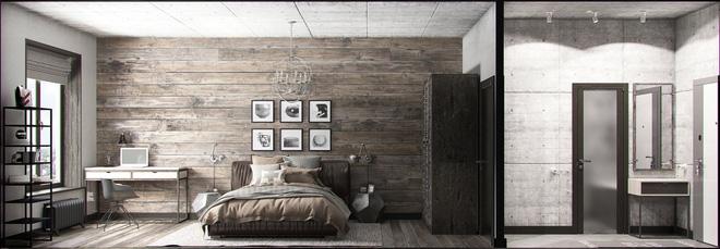 Hai căn hộ 35m² với phong cách trang trí công nghiệp nhưng lãng mạn đến khó tin - Ảnh 6.