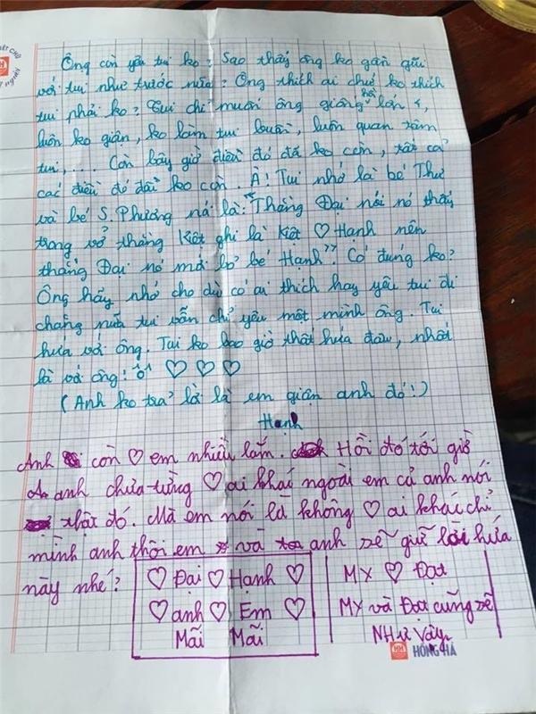 Không thể tin vào mắt mình những bức thư tình tiểu học thời nay - Ảnh 7.