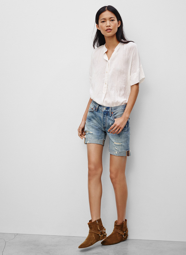 Bạn đã có bao nhiêu kiểu shorts jeans trong tủ đồ hè của mình? - Ảnh 9.