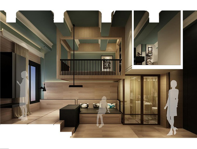 Cải tạo căn hộ 14m² thành không gian đẹp ngất ngây với 3 phòng ngủ tiện dụng - Ảnh 8.