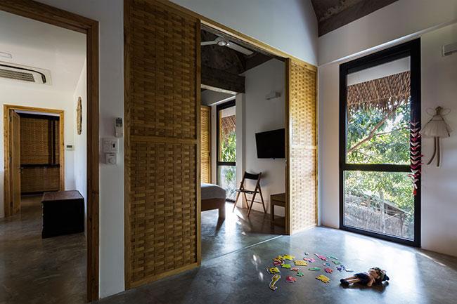 Mê mẩn với ngôi nhà vườn lợp mái lá dừa đẹp ngang khu nghỉ dưỡng cao cấp - Ảnh 11