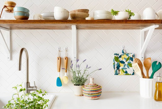 10 cách lưu trữ cực thông minh trong không gian nhà bếp nhỏ hẹp - Ảnh 7.