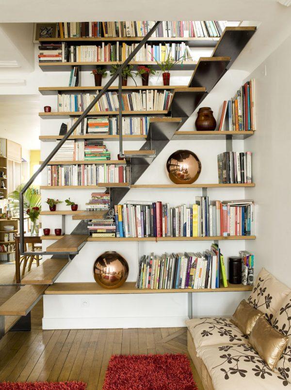 20 thiết kế giá sách kết hợp với cầu thang vô cùng đẹp mắt - Ảnh 9.