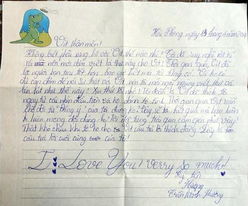 Không thể tin vào mắt mình những bức thư tình tiểu học thời nay - Ảnh 9.