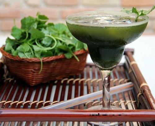 Những kiểu uống nước rau má mùa hè giải nhiệt sai cách có thể khiến bạn mất mạng - Ảnh 1.