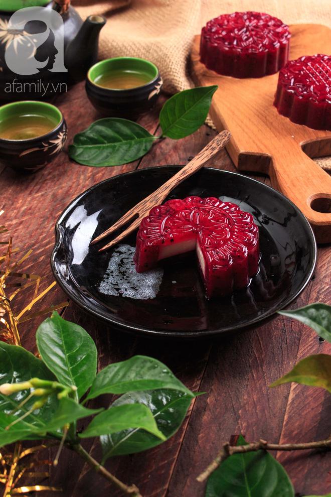 Đẹp lung linh, ngon ngất ngây món bánh trung thu rau câu phô mai - Ảnh 11.