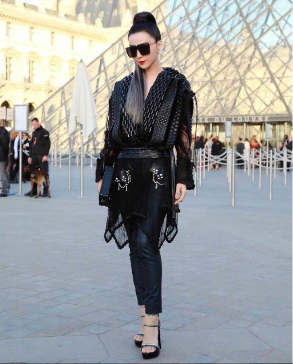 Phạm Băng Băng chơi hẳn màu tóc khói bạc xuất hiện cực chất tại show diễn của Louis Vuitton - Ảnh 3.