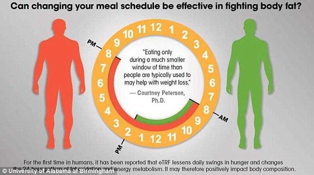 Muốn giảm cân, hãy ngừng ăn sau 2 giờ chiều - Ảnh 1.