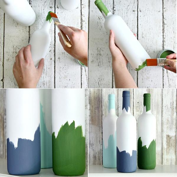 3 cách tái chế vỏ chai thành lọ cắm hoa đơn giản đẹp tinh tế - Ảnh 2.