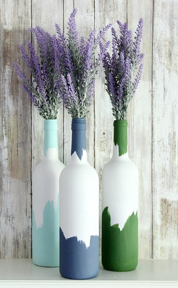 3 cách tái chế vỏ chai thành lọ cắm hoa đơn giản đẹp tinh tế - Ảnh 3.