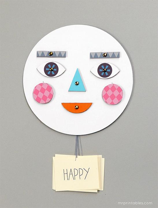 Dạy con về cảm xúc bằng chiếc mặt nạ biến hóa đơn giản mà thú vị - Ảnh 8.