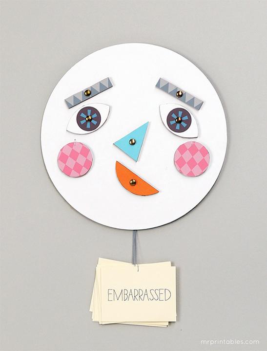 Dạy con về cảm xúc bằng chiếc mặt nạ biến hóa đơn giản mà thú vị - Ảnh 7.