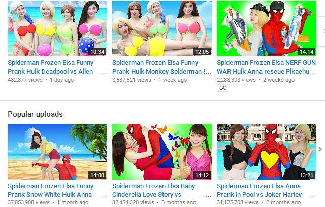 Có thể bạn không tin nhưng con bạn đang bị Youtube đầu độc hàng ngày như thế này đây - Ảnh 2.
