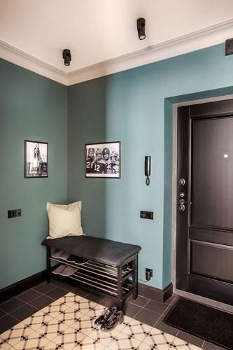 """Bên trong căn hộ cổ điển 48m2 có nội thất đầy vẻ """"nam tính"""" - Ảnh 2."""