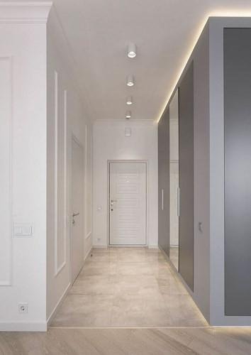 Phòng ngủ độc đáo nhờ sử dụng ánh sáng trong căn hộ 50m2 - Ảnh 1.