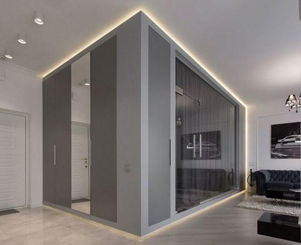 Phòng ngủ độc đáo nhờ sử dụng ánh sáng trong căn hộ 50m2 - Ảnh 2.