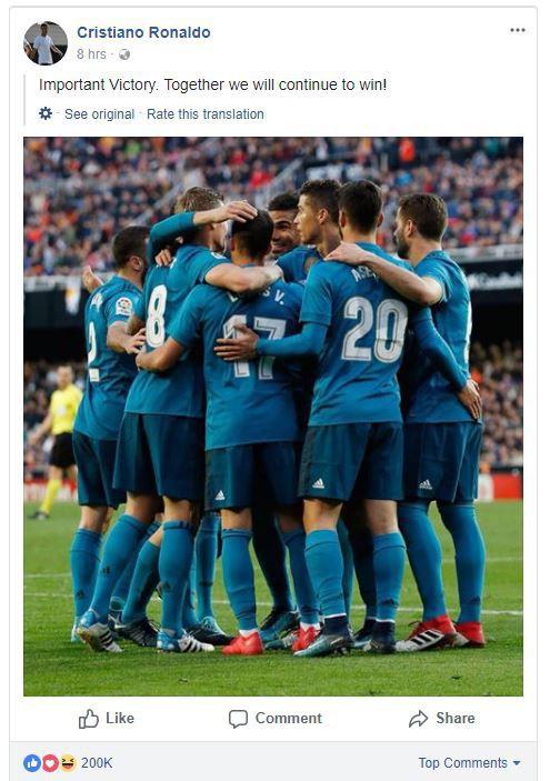 Bùi Tiến Dũng hot thế này đây: Đăng một bài có 1,3 triệu like, hơn cả Ronaldo - Ảnh 2.