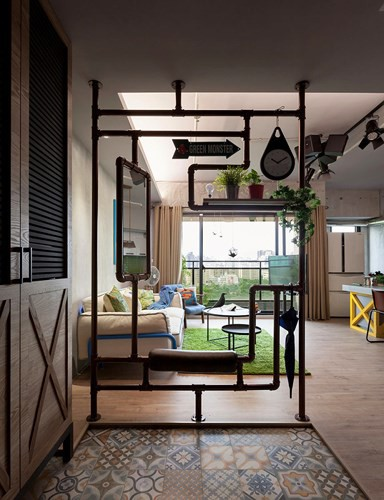 Thiết kế căn hộ 122m2 có phòng bếp lớn - Ảnh 9.