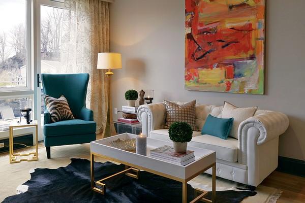 3 mẫu căn hộ hoàn hảo dành riêng cho những cô nàng độc thân - Ảnh 1.