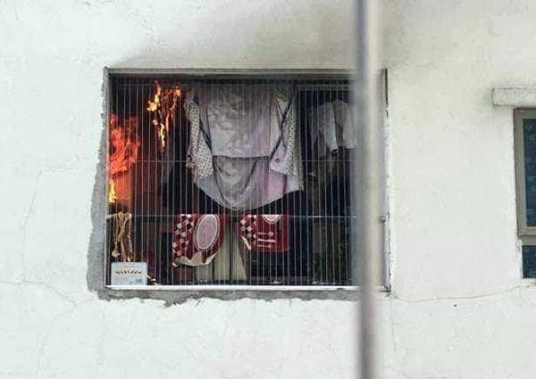 Cháy trong căn hộ chung cư HH Linh Đàm, Hà Nội - Ảnh 3.