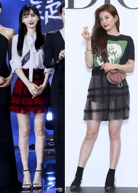 Gầy mặc gì cũng đẹp là có thật: cứ nhìn Angela Baby và Suzy cùng diện một mẫu váy là rõ - Ảnh 9.