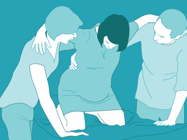 Kinh nghiệm đi đẻ của mẹ trẻ: Muốn giảm đau, sinh nhanh, hãy nhớ chọn tư thế chuyển dạ đúng - Ảnh 15.