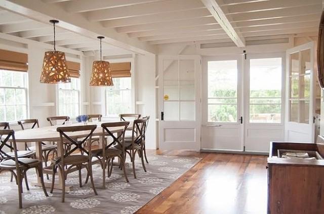 Gợi ý chọn thảm giúp phòng ăn đẹp và ấm cúng - Ảnh 1.