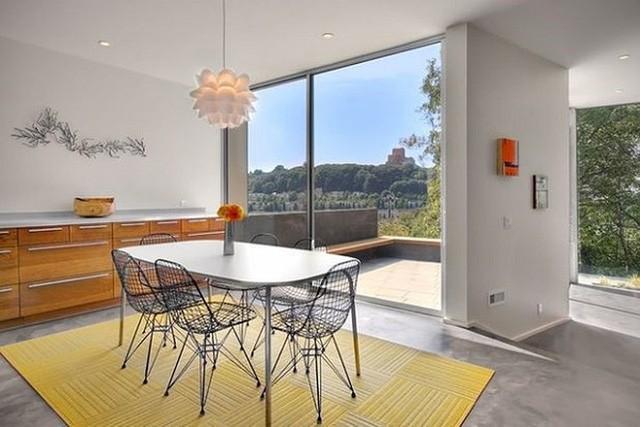 Gợi ý chọn thảm giúp phòng ăn đẹp và ấm cúng - Ảnh 4.