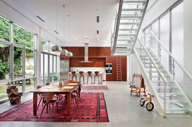 Gợi ý chọn thảm giúp phòng ăn đẹp và ấm cúng - Ảnh 9.