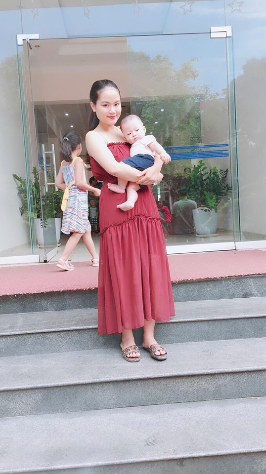 Trầm cảm sau sinh vì béo, gặp ai cũng bị chê, mẹ 9X quyết tâm lột xác đẹp hơn thời con gái - Ảnh 4.