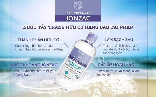 tẩy Trang Jonzac Micellar Water 500ml 3