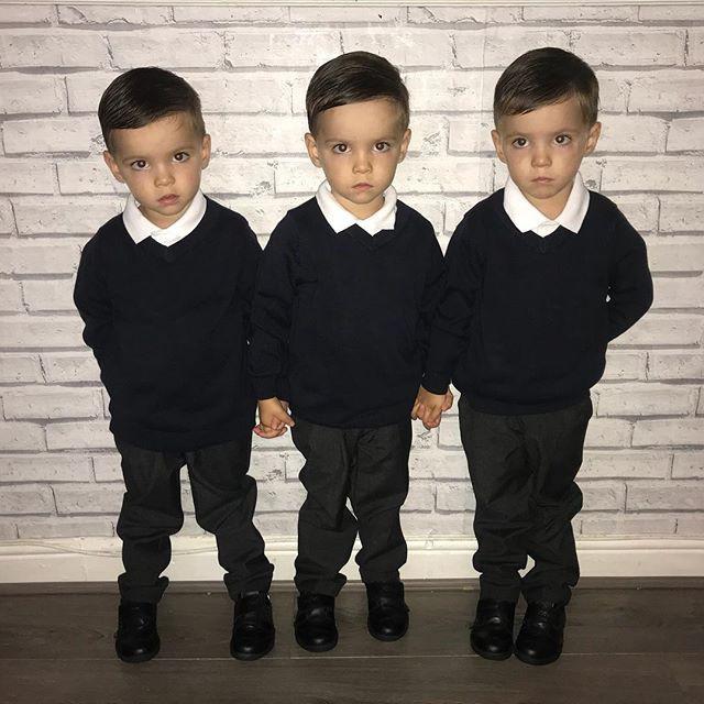 Hiếm thấy: Cặp sinh ba tự nhiên cùng gen, giống nhau như 3 giọt nước, đến bố mẹ cũng khó phân biệt - Ảnh 15.