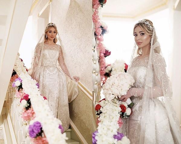Đám cưới xa hoa bậc nhất của ông trùm dầu khí với cháu nhà tài phiệt Nga, chỉ dàn vali LV, Versace của hồi môn kéo theo đã 7 tỷ - Ảnh 2.
