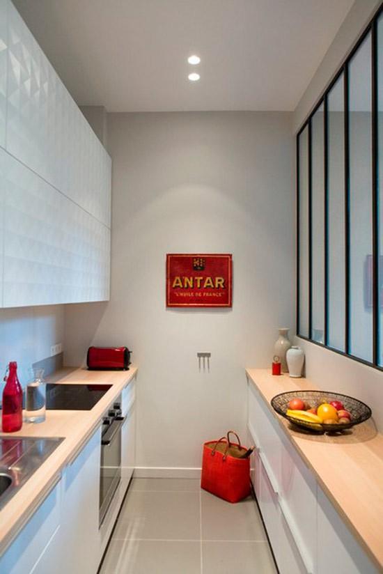 Nhà bếp không có cửa sổ, thực trạng chung của nhiều nhà chung cư và những giải pháp thiết kế khắc phục siêu hay - Ảnh 2.