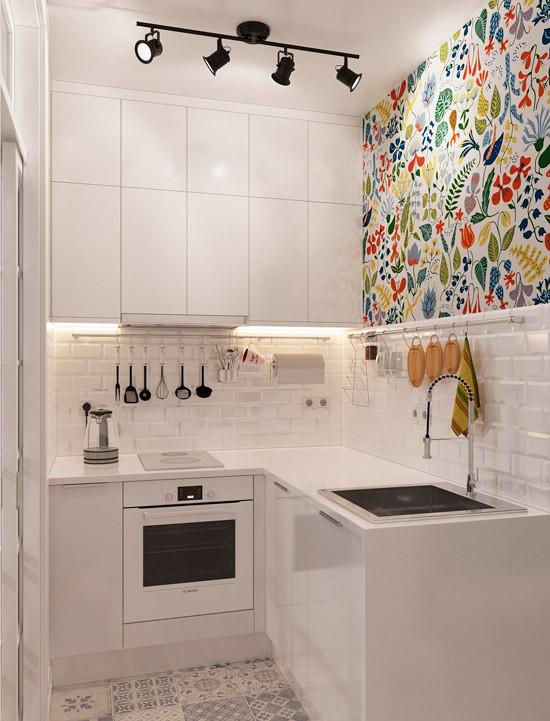 Nhà bếp không có cửa sổ, thực trạng chung của nhiều nhà chung cư và những giải pháp thiết kế khắc phục siêu hay - Ảnh 9.