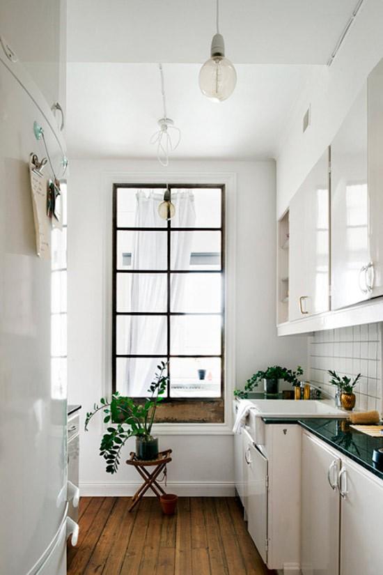 Nhà bếp không có cửa sổ, thực trạng chung của nhiều nhà chung cư và những giải pháp thiết kế khắc phục siêu hay - Ảnh 13.