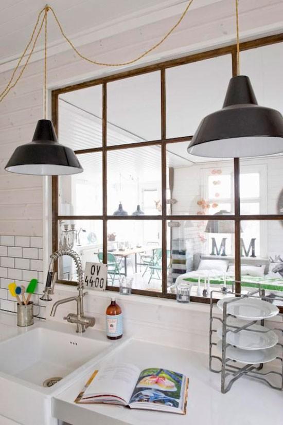 Nhà bếp không có cửa sổ, thực trạng chung của nhiều nhà chung cư và những giải pháp thiết kế khắc phục siêu hay - Ảnh 16.
