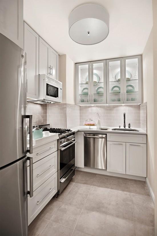 Nhà bếp không có cửa sổ, thực trạng chung của nhiều nhà chung cư và những giải pháp thiết kế khắc phục siêu hay - Ảnh 24.