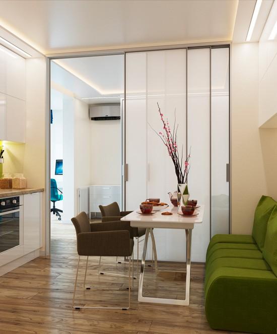 Nhà bếp không có cửa sổ, thực trạng chung của nhiều nhà chung cư và những giải pháp thiết kế khắc phục siêu hay - Ảnh 5.
