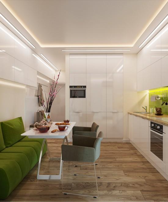 Nhà bếp không có cửa sổ, thực trạng chung của nhiều nhà chung cư và những giải pháp thiết kế khắc phục siêu hay - Ảnh 6.