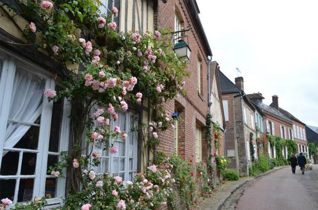 Ngắm những ngôi nhà thơ mộng với giàn hoa đẹp như cổ tích ở làng quê nước Pháp - Ảnh 13.