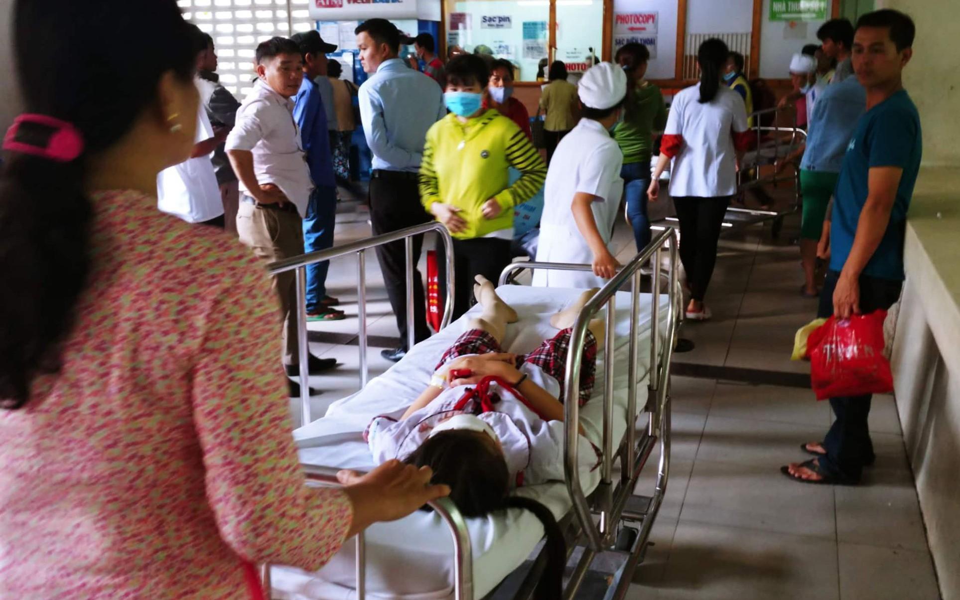 Sập giàn giáo ở trường tiểu học ngày 20/11: 19 học sinh ra viện, 1 em xuất huyết dưới nhện nặng