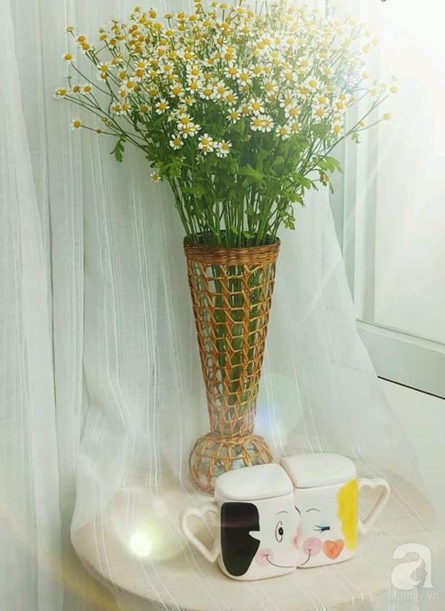 Làm đẹp nhà đón mùa đông Hà Nội với cúc họa mi đẹp dịu dàng, bình yên  - Ảnh 26.
