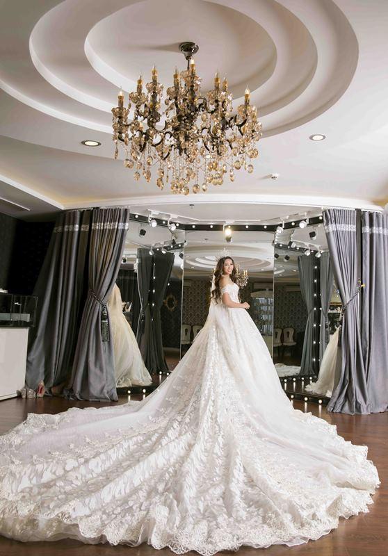 Cận cảnh không gian lễ vu quy xa hoa của Hoa hậu Đại dương Đặng Thu Thảo với chồng đại gia - Ảnh 9.