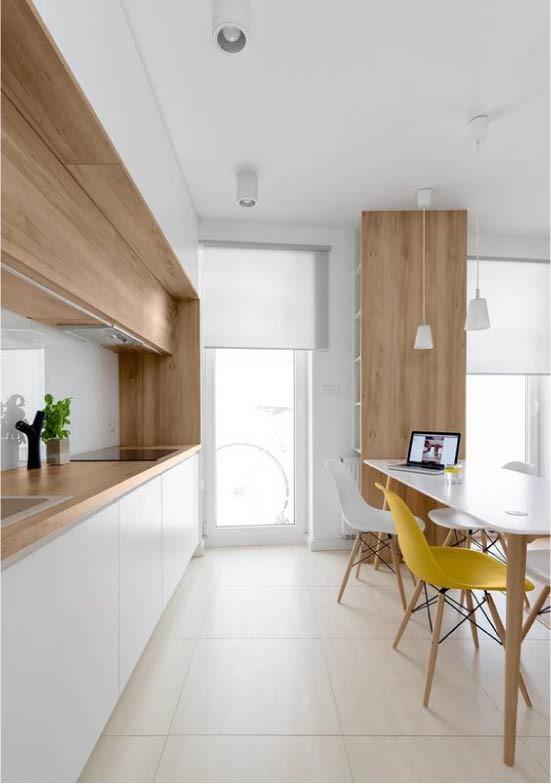 Cách chọn rèm cửa cho nhà bếp kết nối với ban công vừa đẹp vừa thuận tiện đi lại - Ảnh 13.