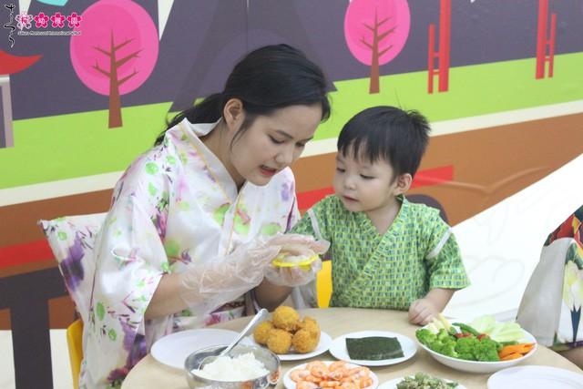 """Sakura Montessori cùng ba mẹ và bé khám phá """"Ngày hội Obento"""" đầy mới lạ - Ảnh 5."""