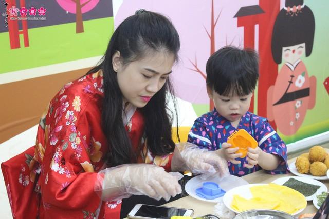 """Sakura Montessori cùng ba mẹ và bé khám phá """"Ngày hội Obento"""" đầy mới lạ - Ảnh 7."""