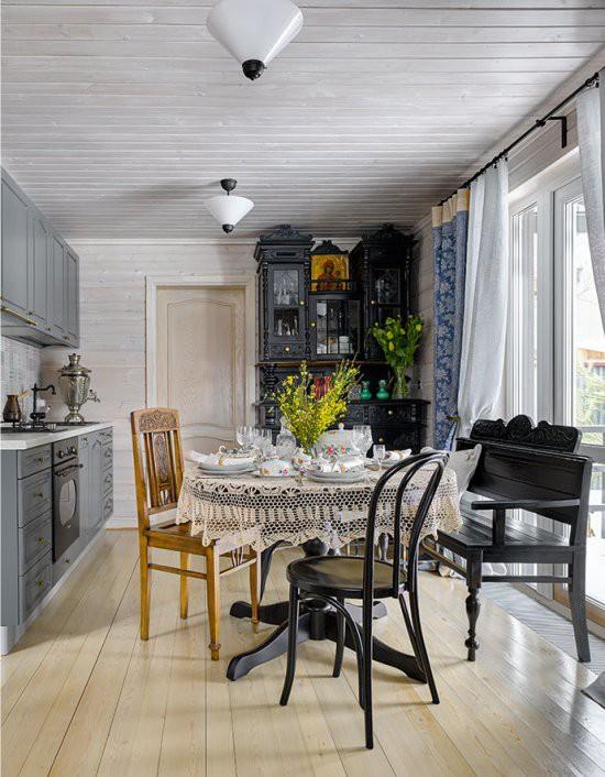Cách chọn rèm cửa cho nhà bếp kết nối với ban công vừa đẹp vừa thuận tiện đi lại - Ảnh 3.
