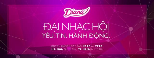 Diana tổ chức đại nhạc hội với sự tham gia của nhóm nhạc Hàn Quốc BTOB và EXID - Ảnh 1.